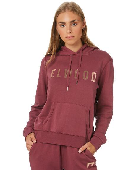 ELWOOD Huff N Puff Hood - Mulberry