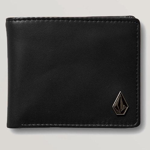 VOLCOM - SINGLE STONE LEATHER WALLET
