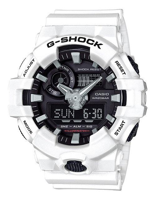 G-Shock DUO GA700-7A White Watch