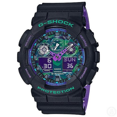 CASIO G-SHOCK DUO BLACK 90S GA100BL-1A