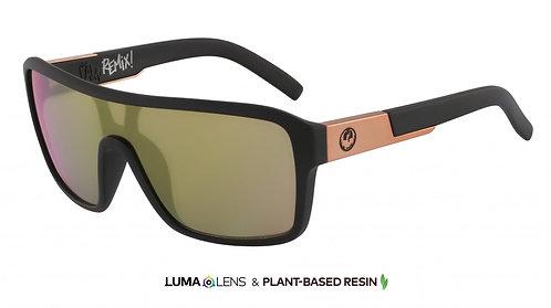 REMIX Matte Black w/ Lumalens Rose Gold Ion
