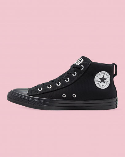Converse Chuck Taylor All Star Street Mix And Match Mid Black