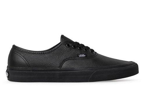Vans Authentic Leather - Black/Black