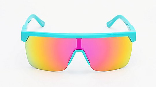 Spy Flynn 5050 HD Plus Teal & Pink Sunglasses