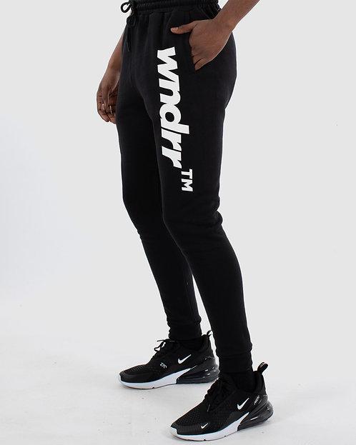 WNDRR Trademark Trackpant - Black