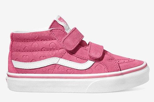 VANS Sk8-Mid V Hearts Toddler - Pink