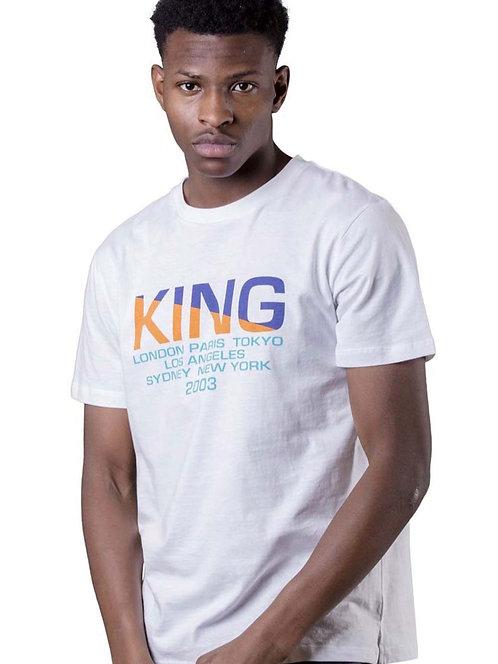 KING APPAREL - HOMERTON TEE - WHITE