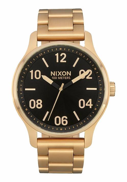 Nixon Patrol , 42 mm Gold/Black