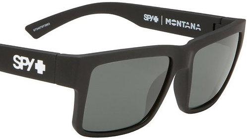 SPY Montana Soft Matte Black/Happy Grey Green Lenses
