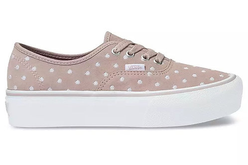 Suede Polka Dot Authentic Platform 2.0