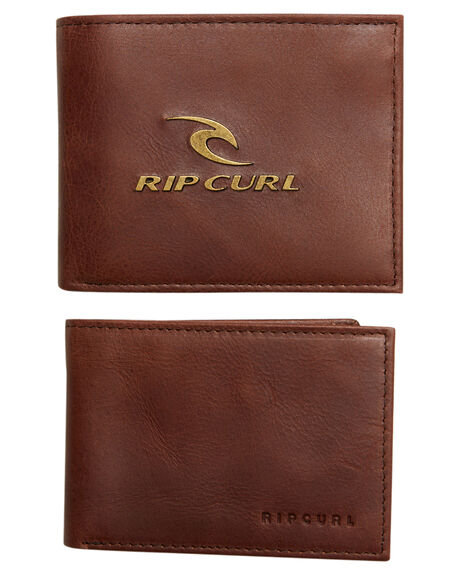 Rip Curl Corpowatu Leather Wallet - Brown