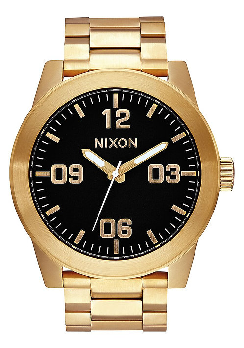 Corporal Stainless Steel Watch All Gold / Black