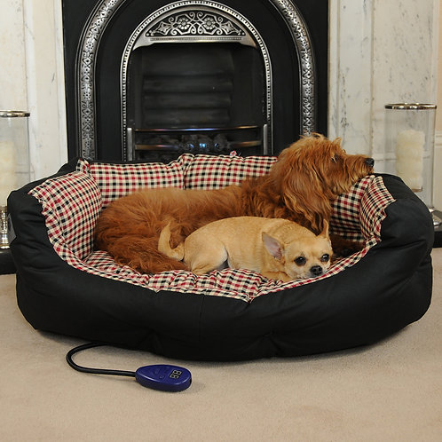 Sutton Large Heated Dog Bed