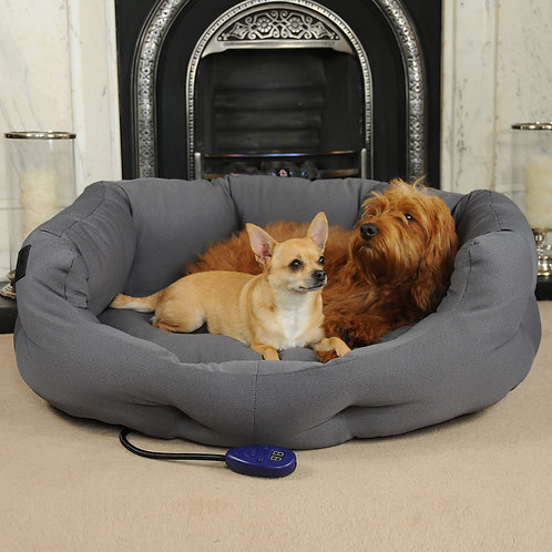 Kiplin Large Heated Dog Bed