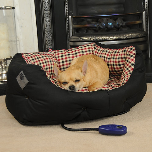 Sutton Small Heated Dog Bed