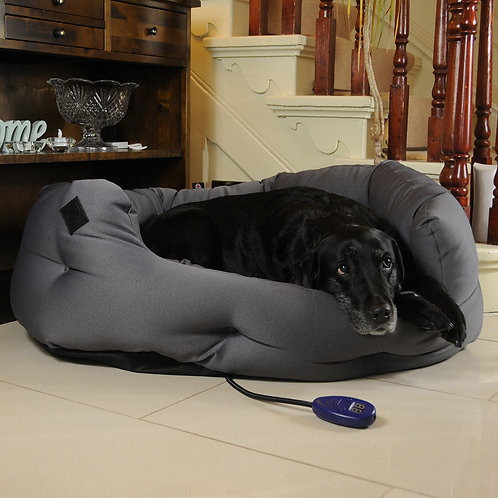 Kiplin Extra Large Heated Dog Bed