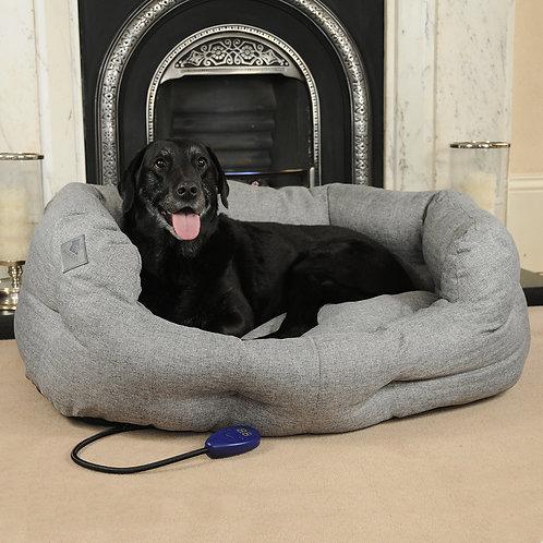 Sledmere Large Heated Dog Bed