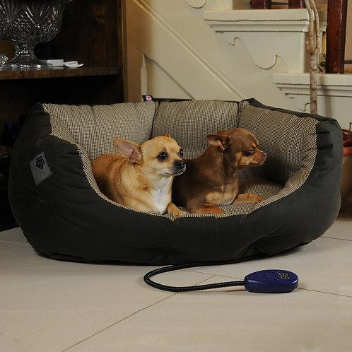 Harewood Medium Heated Dog Bed