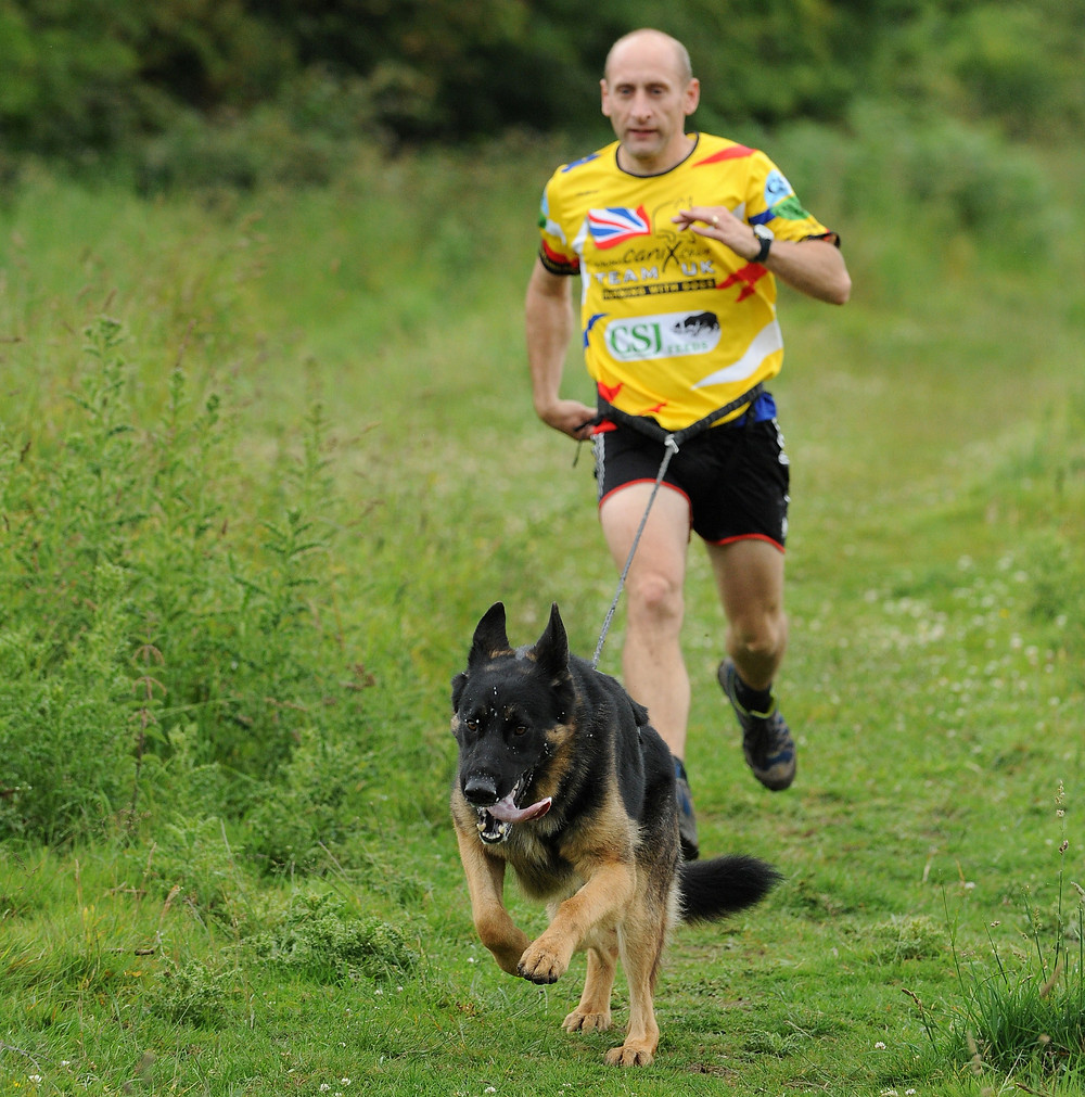 Running with your dog is a great form of excersise for you both