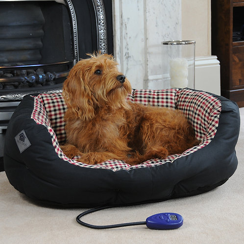 Sutton Medium Heated Dog Bed