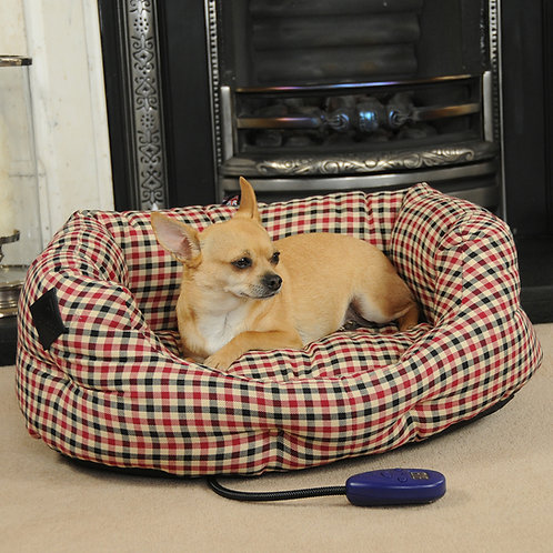 Sewerby Small Heated Dog Bed