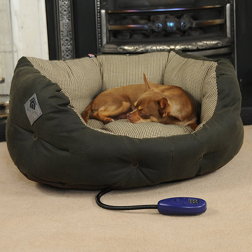 Harewood Small Heated Dog Bed
