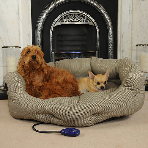 Ripley Large Heated Dog Bed