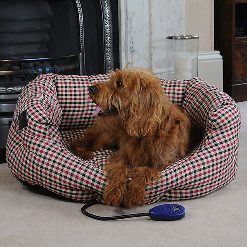 Sewerby Medium Heated Dog Bed