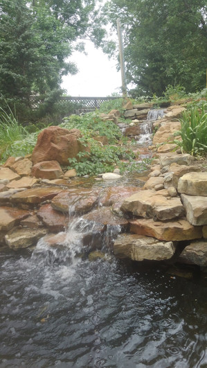 Arkansas Brown Waterfall