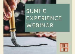 Sumi-e Experience Webinar