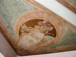 restauro soffitto liberty