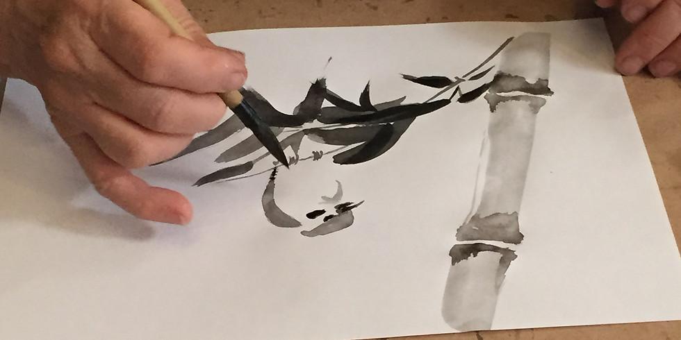 Pittura Zen Workshop a Bologna