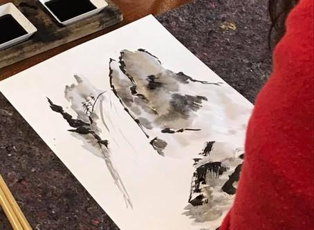 Pittura Zen Workshop - il paesaggio