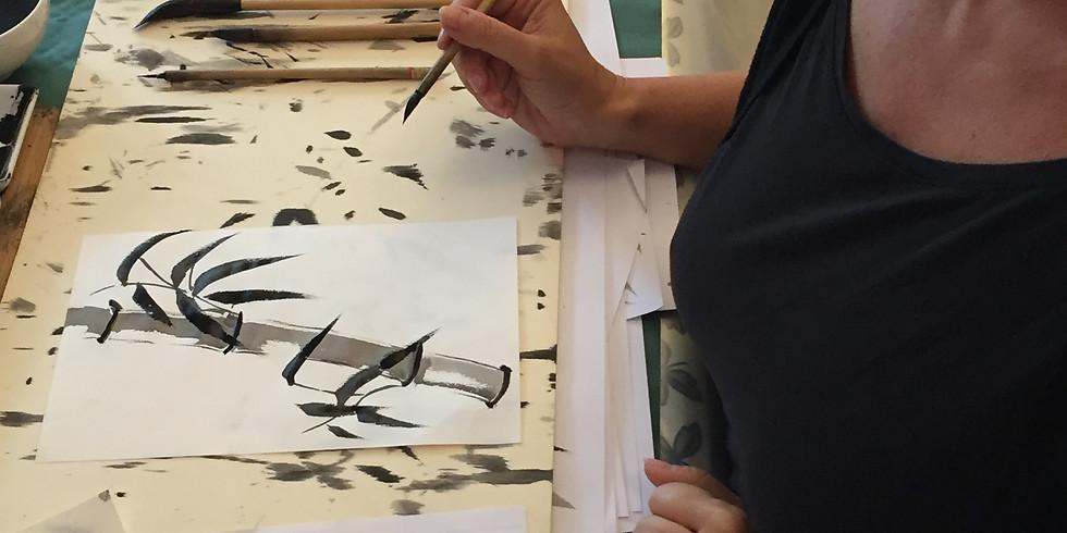 Pittura Zen Workshop a Padova