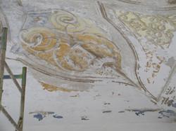 restauro soffitto dipinto