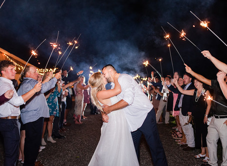 The Perfect Sparkler Send Off