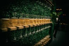 Champagne Wall