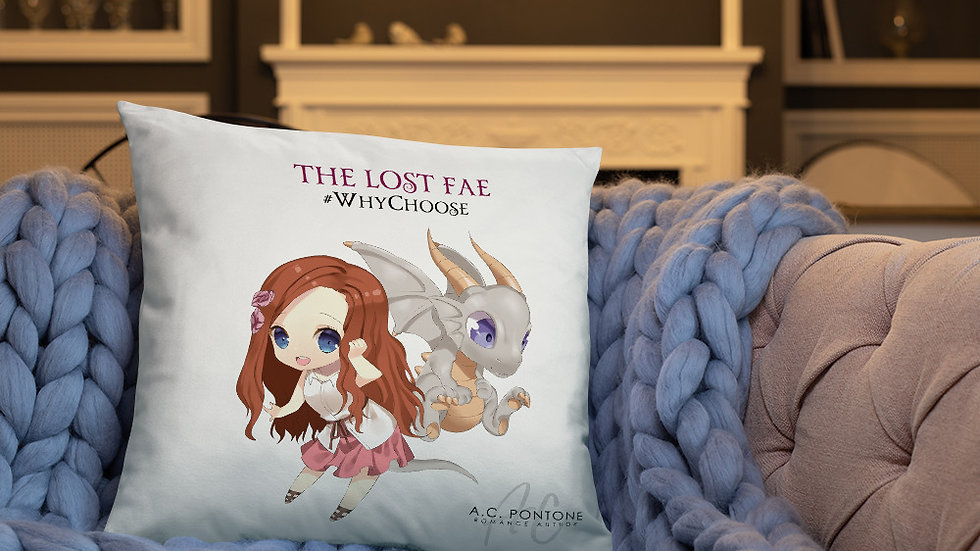 The Lost Fae - Basic Pillow