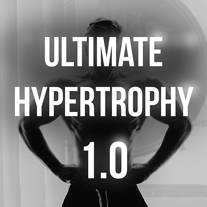 Oliver Forslin - Ultimate Hypertrophy 1.0 Training Program