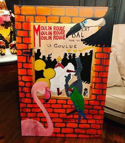 La Goulue - Lautrec par Claire