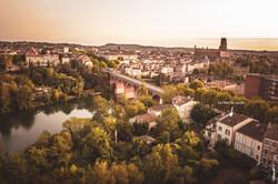 Le Rez de Jardin dans Albi par DR&AM DRONE