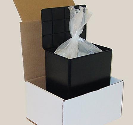 Rigid Black Container (No Cost)
