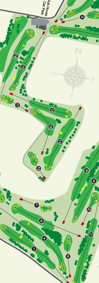 Bigbury Golf Club Map