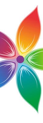 Les Fleurs Flower Logo