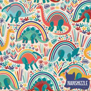 Rainbow Bright Dino-Mite