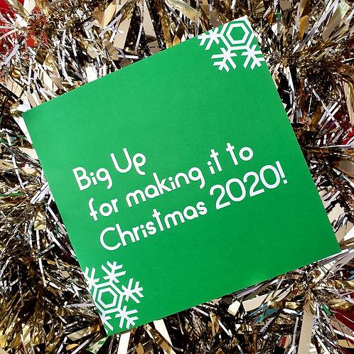 BIG UP 2020 CARD