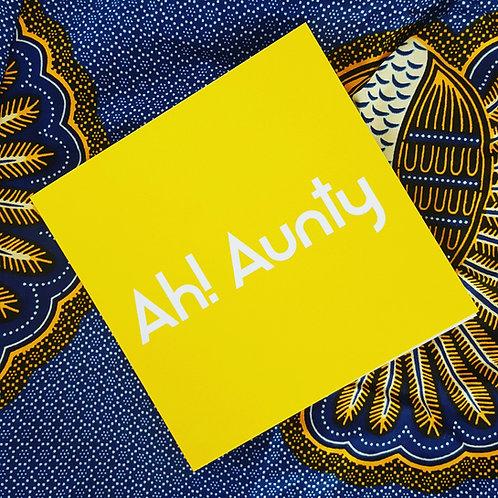 AH! AUNTY CARD