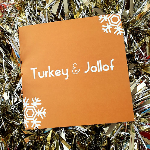 TURKEY & JOLLOF CARD