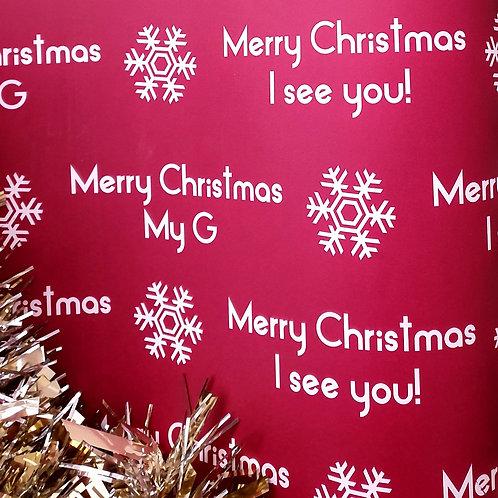 MERRY CHRISTMAS MY G WRAP