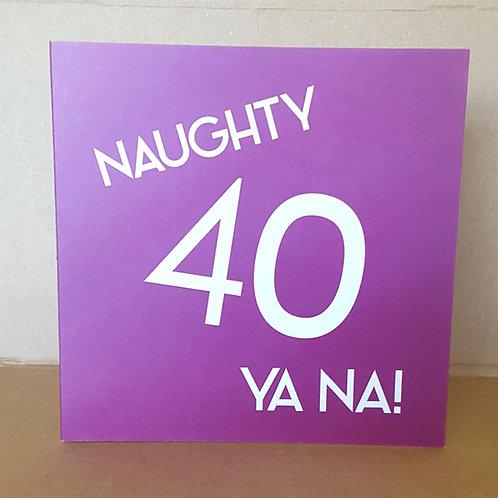 40 YANA CARD